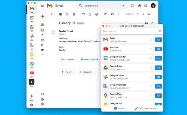 A dica do dia é o Clovery, que reúne todos os serviços do Google