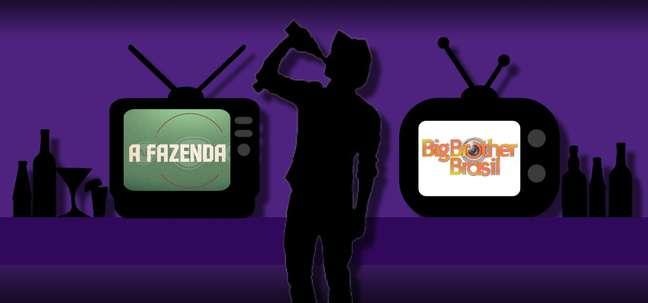 O álcool à vontade deixa os participantes de reality shows ainda mais expostos