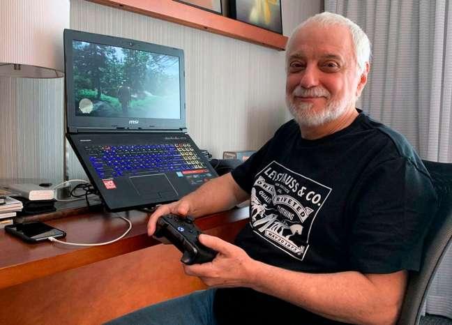 Claudio Almeida levou a paixão pelos jogos para a profissão