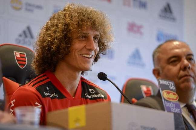 David Luiz estreou pelo Flamengo na Libertadores (Foto: Alexandre Vidal/Flamengo)