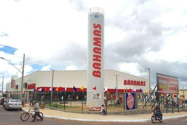 Loja da rede de supermercadosBahamas, de Minas Gerais