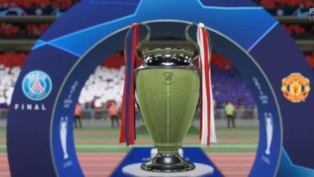 A UEFA Champions League está disponível novamente no Fifa 22