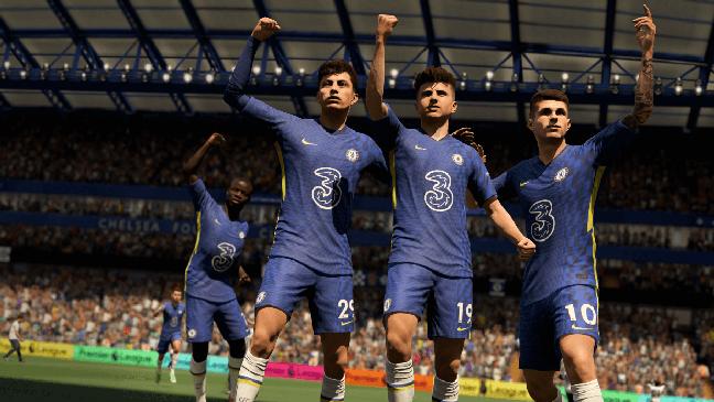 Chelsea e a Premier League estão licenciados e disponíveis no Fifa 22