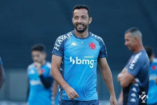 Nene marcou dois gols em três jogos desde que retornou ao Vasco sob o comando de Diniz (Rafael Ribeiro/Vasco)