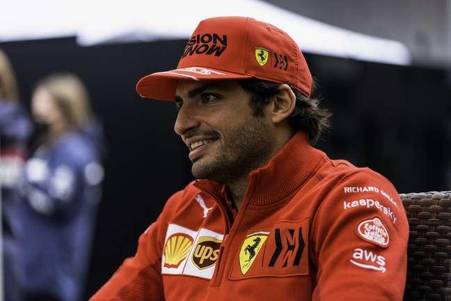 Carlos Sainz destacou sua melhor performance pela Ferrari em 2021