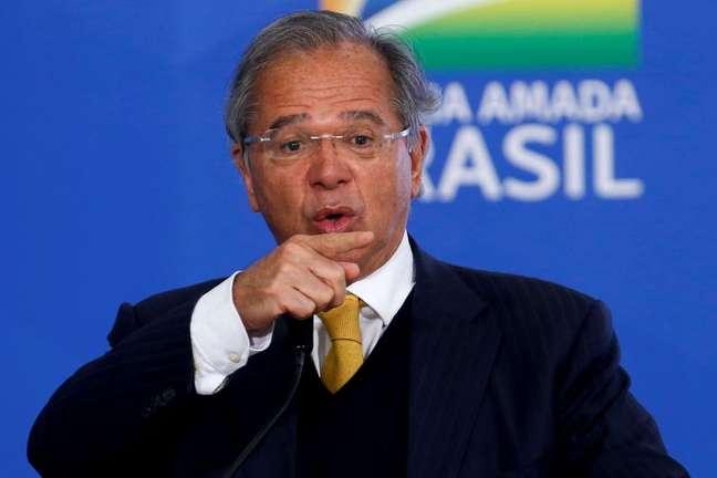 Ministro da Economia, Paulo Guedes 18/5/2021 REUTERS/Adriano Machado