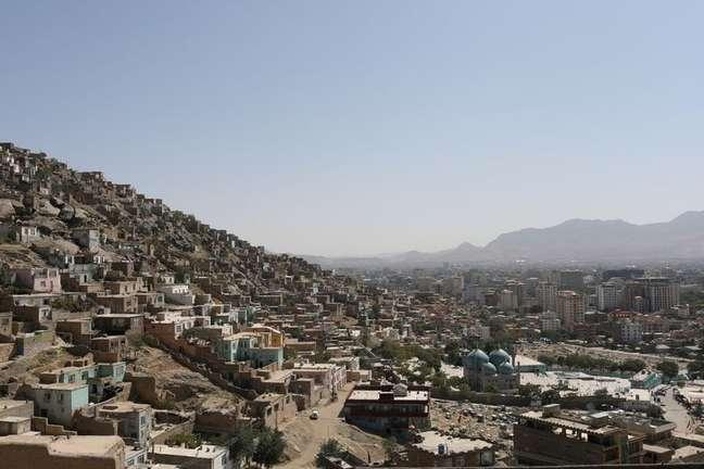 Vista geral da cidade de Cabul 05/09/2021 WANA (West Asia News Agency) via REUTERS