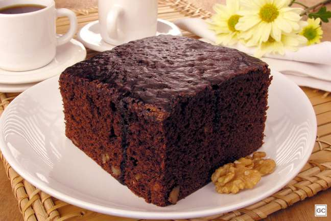 Guia da Cozinha - Receita de bolo tipo brownie