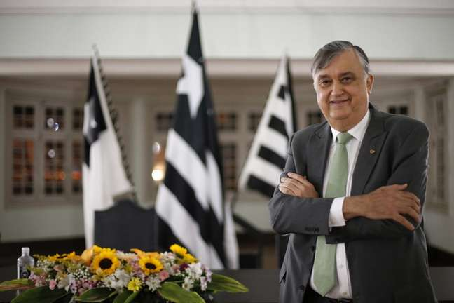 Durcesio Mello revela que o Botafogo vai se reforçar em 2022 (Foto: Vítor Silva/Botafogo)