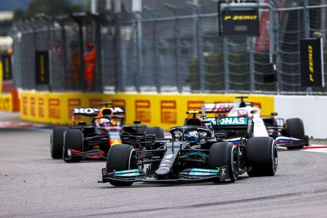 Valtteri Bottas terminou o GP da Rússia na quinta posição