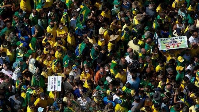 Manifestações do dia 7 de setembro foram marcadas por aglomerações
