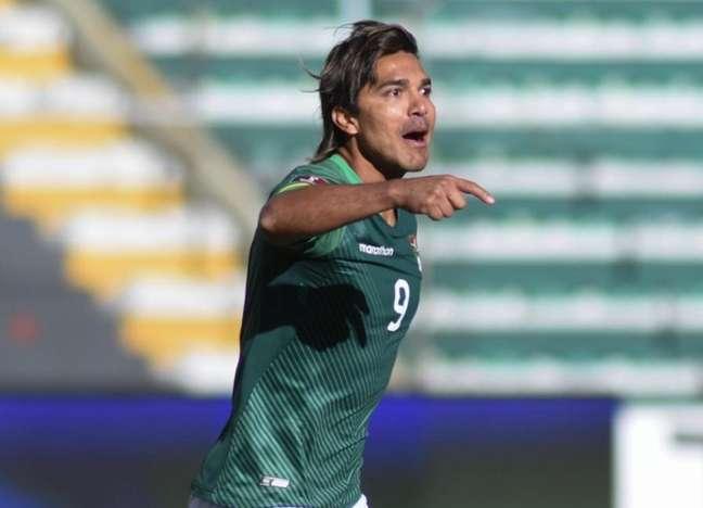 Moreno vai ajudar mais uma vez a seleção do seu país nas Eliminatórias para a Copa do Mundo-(Divulgação/Federação Boliviana de Futebol)