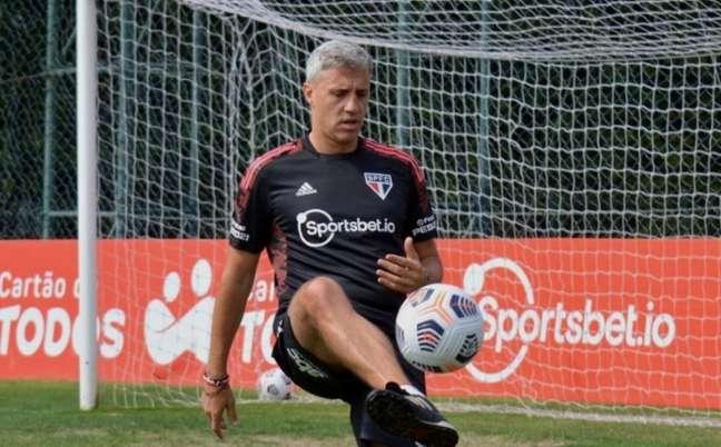 Parte do elenco fez recuperação física, enquanto outros jogadores folgaram (Foto: Felipe Espindola / saopaulofc)