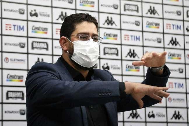 Lênin Franco é o diretor de negócios do Botafogo (Foto: Vítor Silva/Botafogo)
