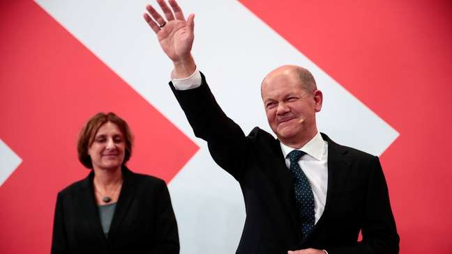 O partido social-democrata de Olaf Scholz foi o mais votado na Alemanha