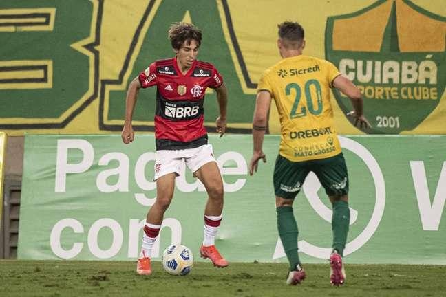 O atacante Werton já fez sua estreia pelo time principal do Flamengo (Foto: Alexandre Vidal/Flamengo)