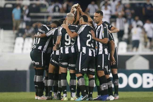 Time do Botafogo na Série B do Brasileirão (Foto: Vítor Silva/Botafogo)