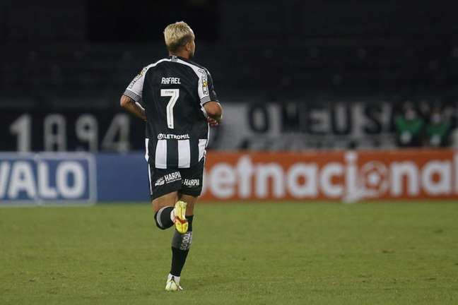 Rafael na estreia pelo Botafogo (Foto: Vítor Silva/Botafogo)