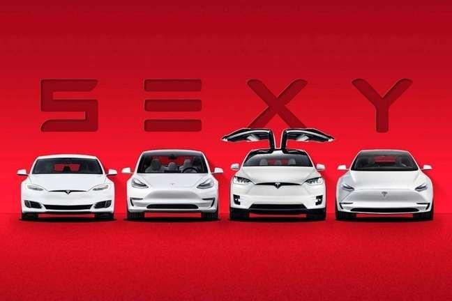 Tesla: inovação em tudo.