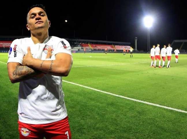 Artur é a esperança do Bragantino contra o Libertad (Ari Ferreira/Red Bull Bragantino)