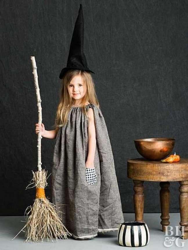 5. As crianças amam se fantasiar de bruxas para o halloween – Por: BH e G