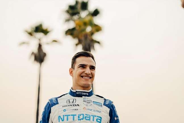 Álex Palou levantou o título da Indy em Long Beach