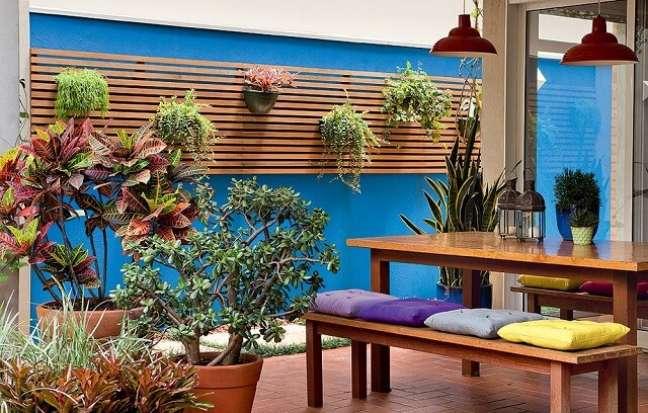 19. As cores trazem alegria para o ambiente. Fonte: Casa e Jardim