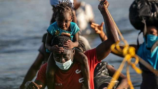 A maioria das crianças deportadas tinha até três anos