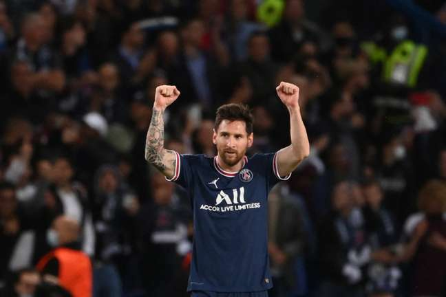 Lionel Messi tenta título da Champions League com o PSG para voltar a ser campeão depois de sete anos (Foto: AFP)