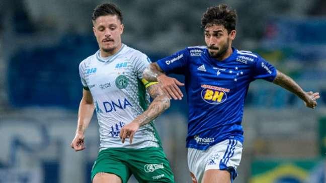 No turno , Raposa e Bugre fizeram um duelo movimentado com muitos gols no Mineirão-(Gustavo Aleixo/Cruzeiro)