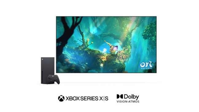 Jogos usarão Dolby Vision no Xbox