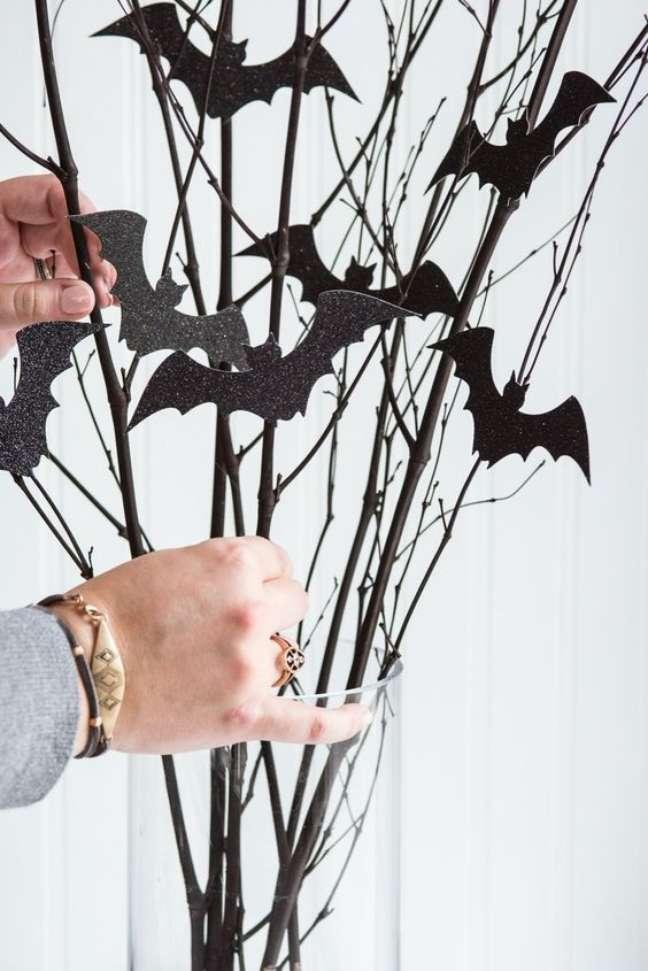28. Use morcegos para decorar a sua festa de halloween – Por: Art My Ideas