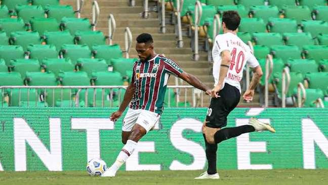Fluminense segue colado ao G6, de olho em uma vaga na Libertadores 2022 (Foto: Lucas Merçon / Fluminense)
