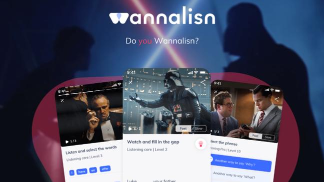O Wannalisn usa a cultura pop para praticar inglês