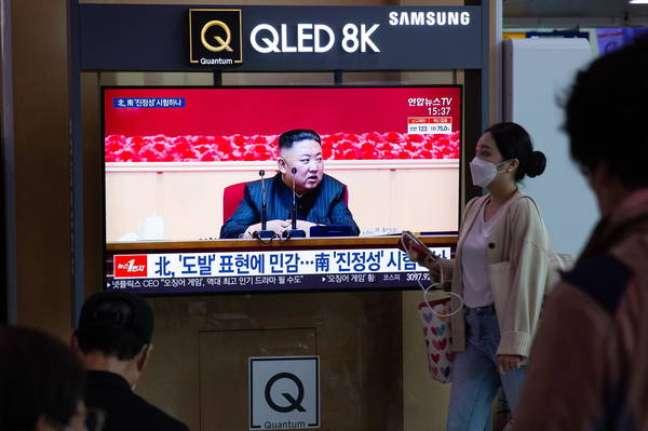 Coreias do Norte e Sul voltam a viver impasse com testes de mísseis