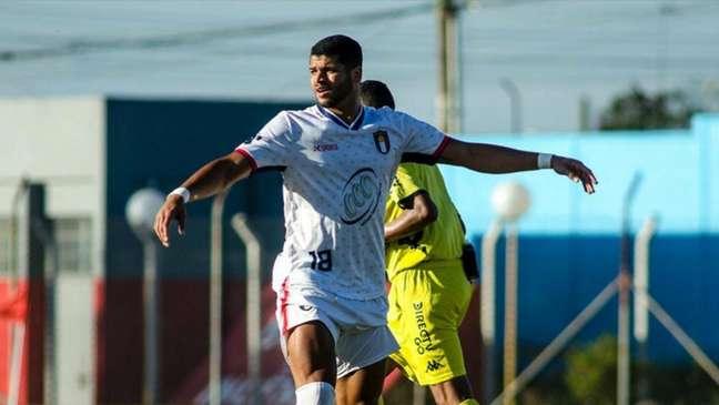 Atacante Patryck Ferreira vive bom momento na segunda divisão do futebol paulista (Divulgação / USAC.)