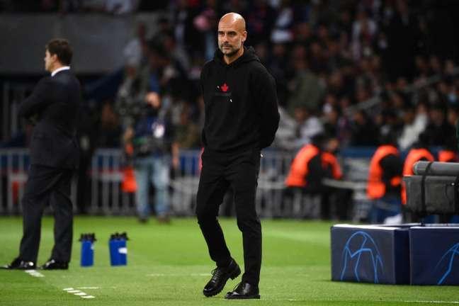 Guardiola tenta conquistar seu primeiro título de Champions League desde que saiu do Barcelona (Foto: AFP)
