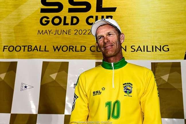 Robert Scheidt é o líder da equipe brasileira no torneio (Foto: Martina Orsini/SSL Gold Cup)