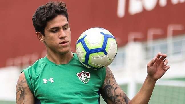 Pedro teve seu pedido aceito, mas em partes, no processo contra o Fluminense (Foto: Lucas Merçon/Fluminense)
