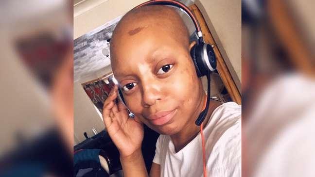 Lucy fez quimioterapia depois de ter sido diagnosticada com câncer de mama