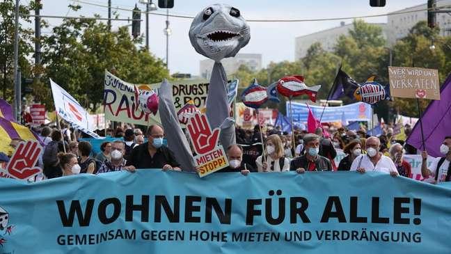 Alta dos preços de aluguéis tem sido alvo de protestos em Berlim
