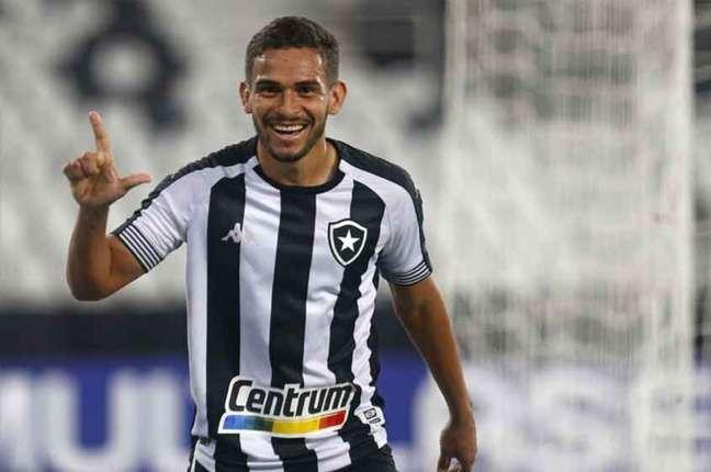 Marco Antônio em ação pelo Botafogo (Foto: Vítor Silva / Botafogo)