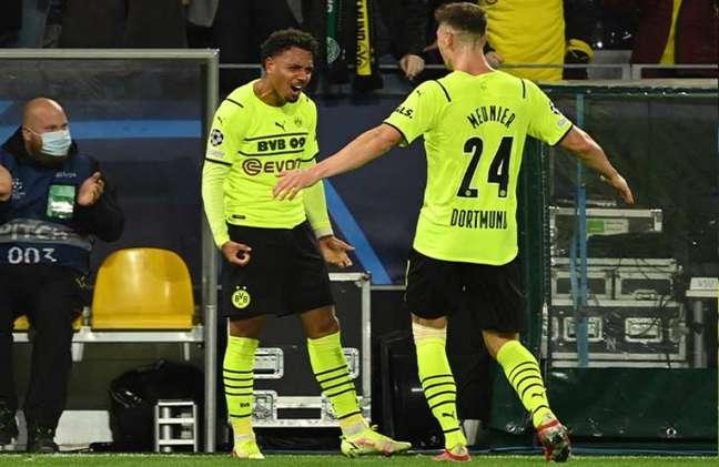 Borussia Dortmund venceu o Sporting nesta terça-feira por 1 a 0 (Foto: Ina Fassbender / AFP)