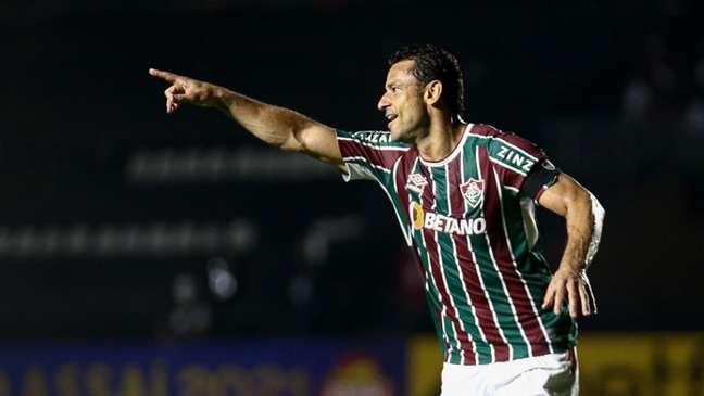 Fred em ação pelo Fluminense (Foto: Lucas Merçon/Fluminense FC)