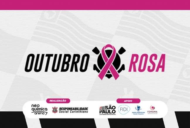 Corinthians fará importante campanha durante alguns dias de outubro (Foto: Divulgação/Corinthians)