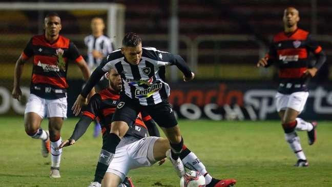 Botafogo venceu o Vitória no primeiro turno (Foto: Vitor Silva/Botafogo)