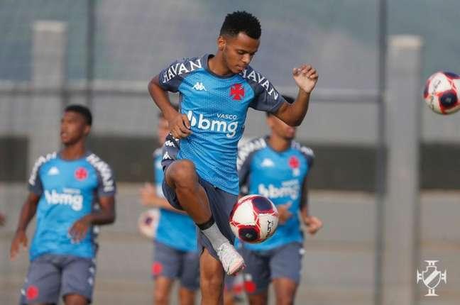 Riquelme, do Vasco, fez uma boa partida e deu assistência para o gol de Morato (Rafael Ribeiro/Vasco)
