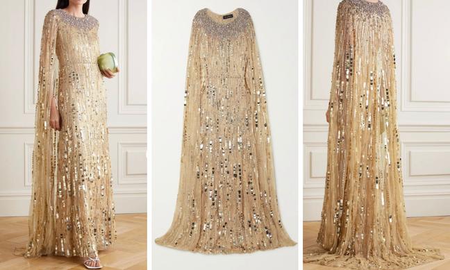 Vestido usado por Kate à venda no site Net-à=Porter (Fotos: Reprodução)