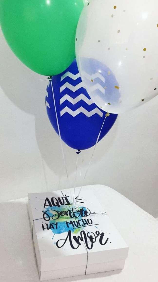 87. Festa na caixa com balões – Foto: Ariii Fernández