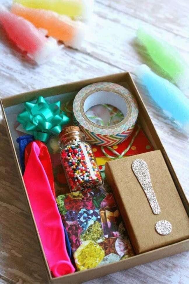 86. Festa na Caixa colorida – Via: Decor Fácil